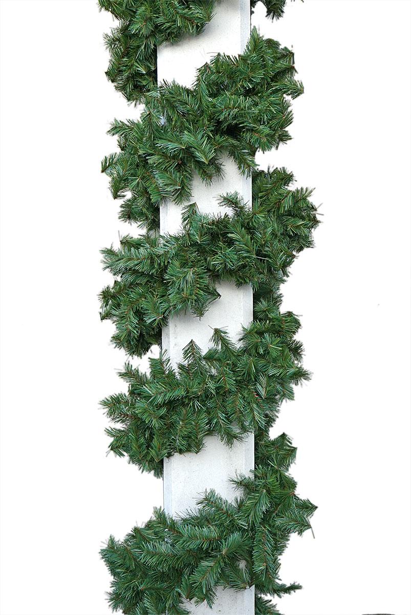 grüne Zweiggirlande Ø 28 cm