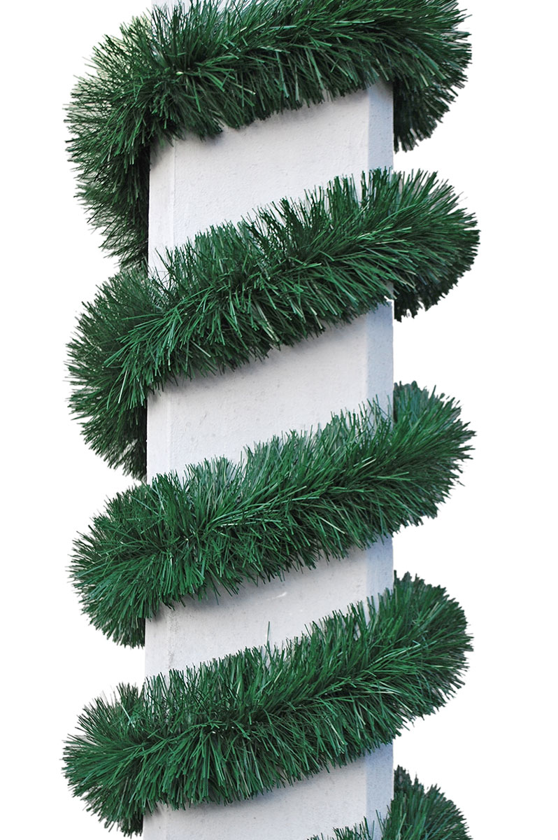 grüne Stranggirlande mit 12cm Durchmesser
