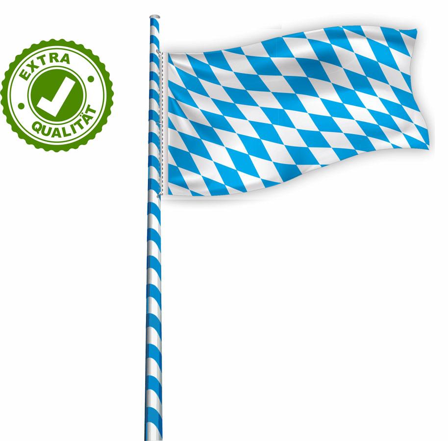05 Flagge für Maibaum EXTRA bayerische Raute