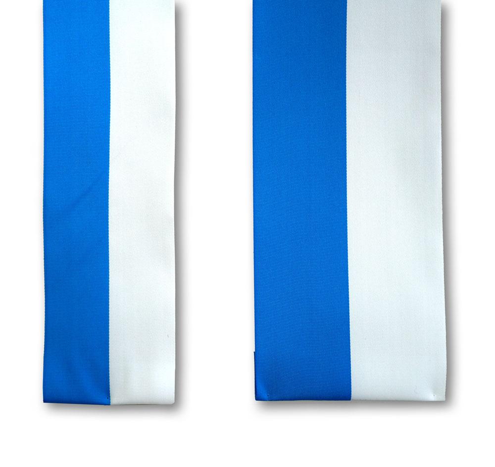Maibaumbänder aus Ripsband 2-farbig