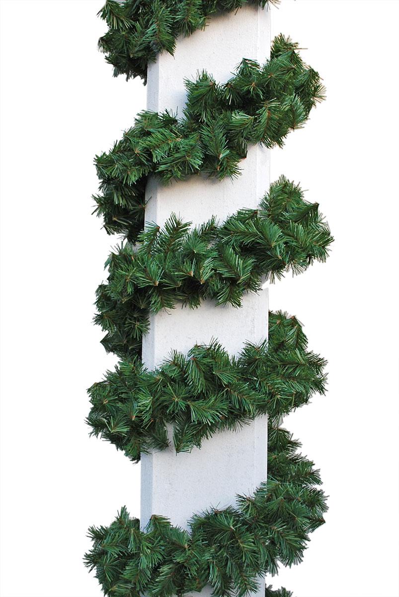 grüne Zweiggirlande mit 16 cm Durchmesser