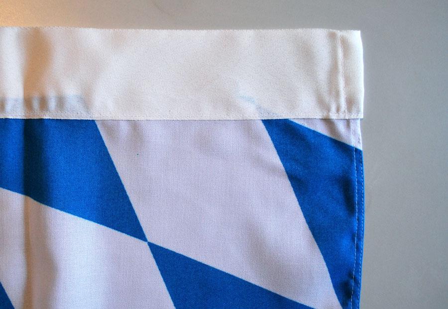 01 Bannerfahne für Maibaum - Maibaumfahne EXTRA